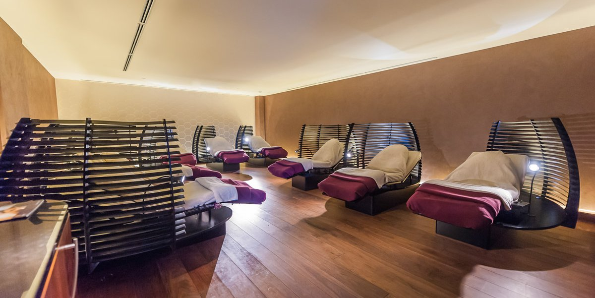 Relaxation room at Thermal Suite